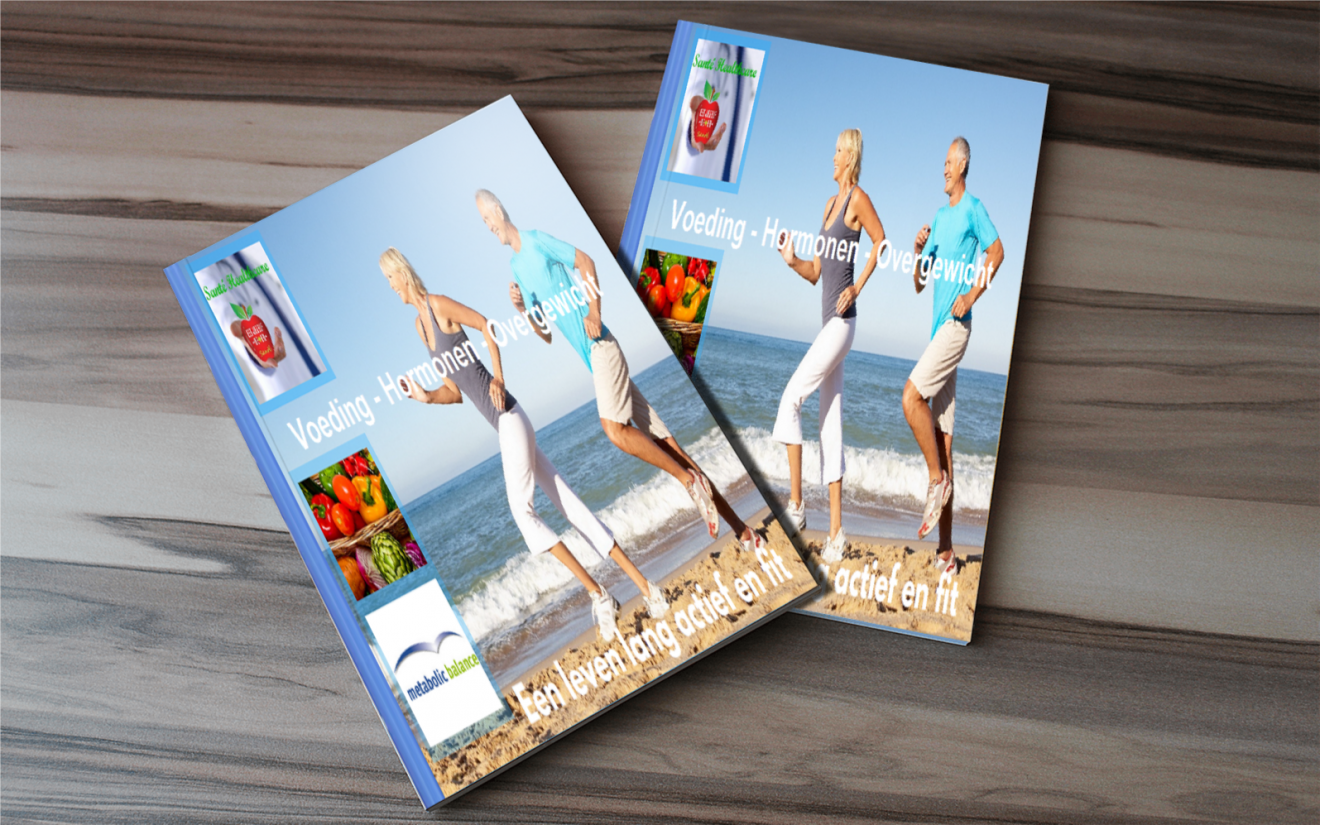 Santé Healthcare E-boek Voeding Hormonen Overgewicht